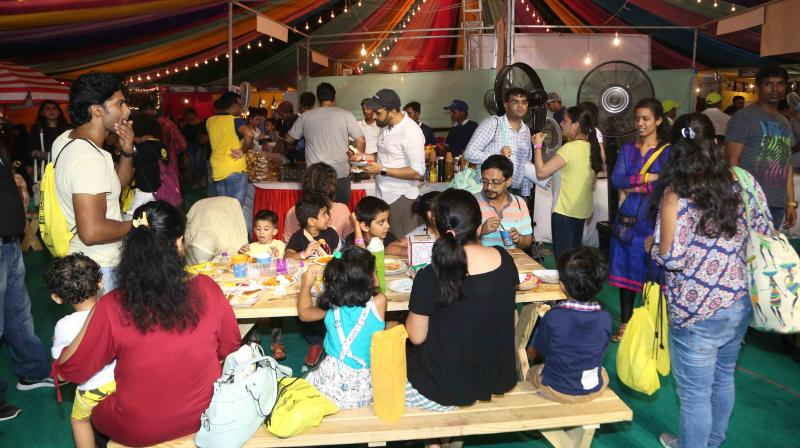 Zianne, Zara, Zeus Irani celebrity kids of Bakhtiyaar Irani and Tanaaz Irani also enjoyed the Karnival along with others.