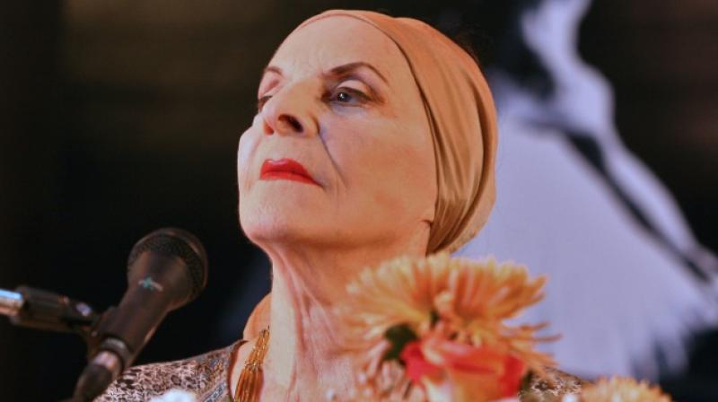 Turning down myriad offers to leave the island throughout her career, she created the Academia de Ballet, which was closed in 1956 by the government of Fulgencio Batista. (Photo: AFP)