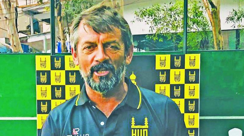 Hyderabad FC, head coach Philip Brown.