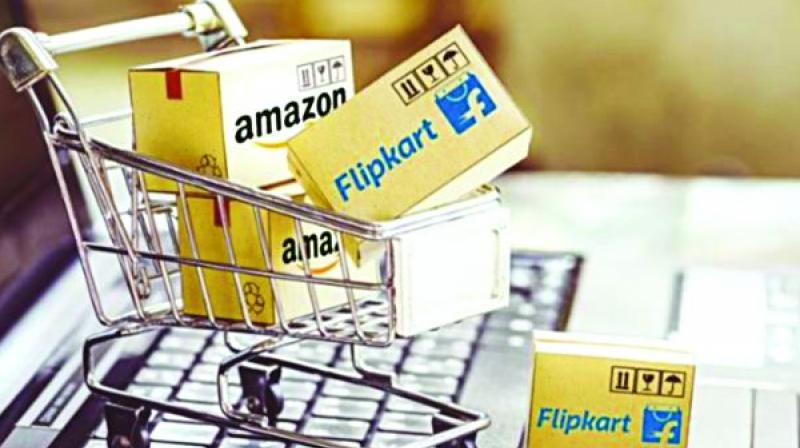 But an e-analytics report by Nielsen India, the local arm of multinational researcher, found that Amazon led the e-commerce Puja sales with a leading share of 45 per cent. Amazon had 51 per cent share of the transacting customers and 42 per cent share of orders.