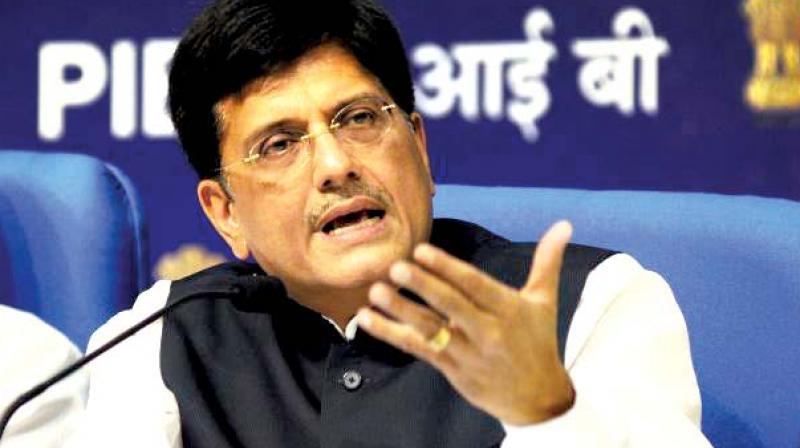 Railway Minister Piyush Goyal.