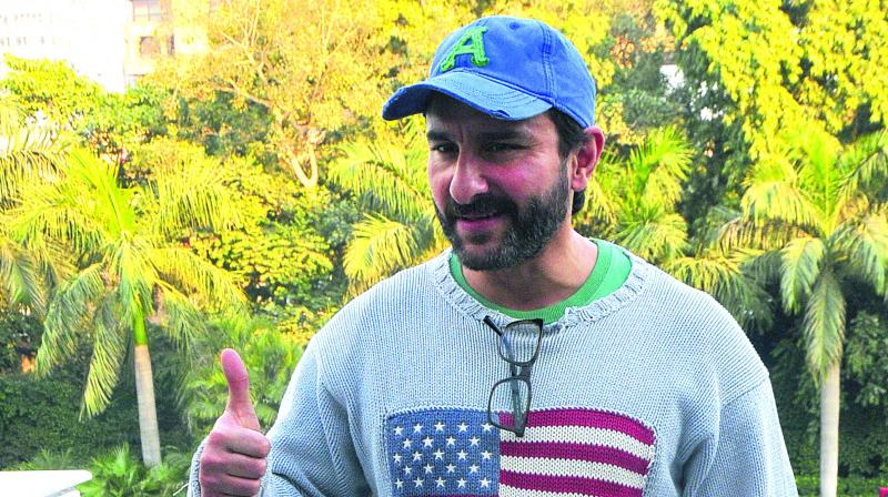 Actor Saif Ali Khan is known for his sense of humour, both on and off the screen. (Photo: DC)