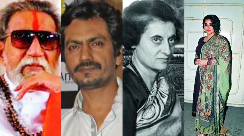 As Vidya Balan readies to play Indira Gandhi, Nawazuddin portrays Bal Thackeray. (Photo: DC)