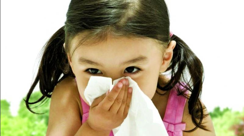 There was a co-relation in allergies and ADHD in children and experts said that increasing levels of dust in cities was aggravating the problem.