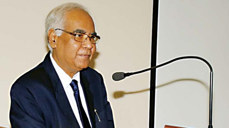 Professor Baldev Raj at NIAS