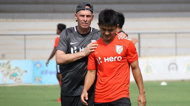 Chhetri, who has the most caps for the Indian team along with being the record goal-scorer, had earlier made a request to the All India Football Federation (AIFF) for a new coach so that fresh ideas could be instilled. (Photo: AIFF Media)