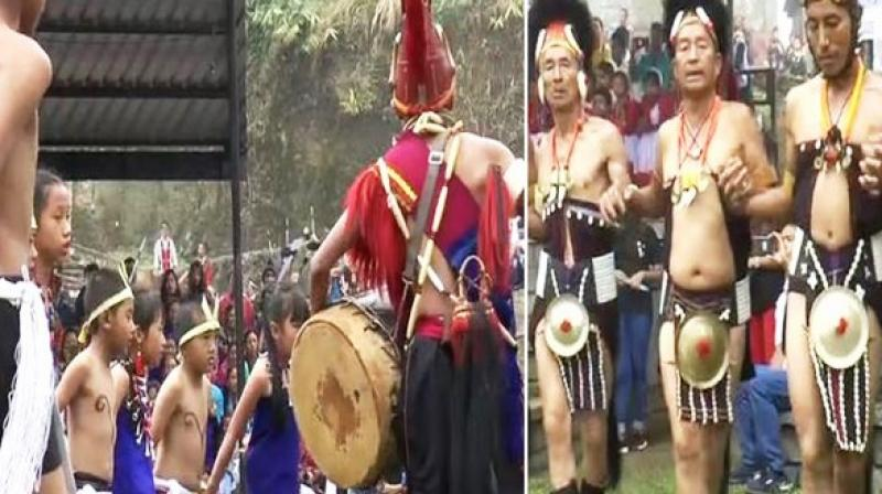 The State Department of Tourism has designated Chuchuyimlang as the only 'Moatsu Destination' of the State. (Photo: ANI)