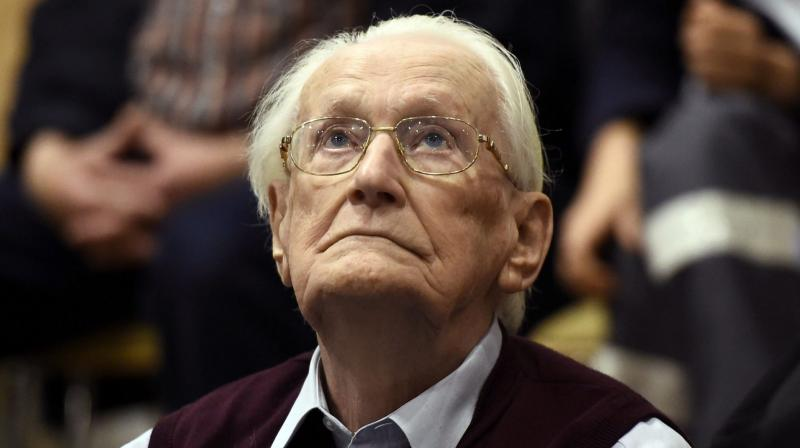 He said he was morally guilty for what happened at the concentration camp (Photo: AFP)