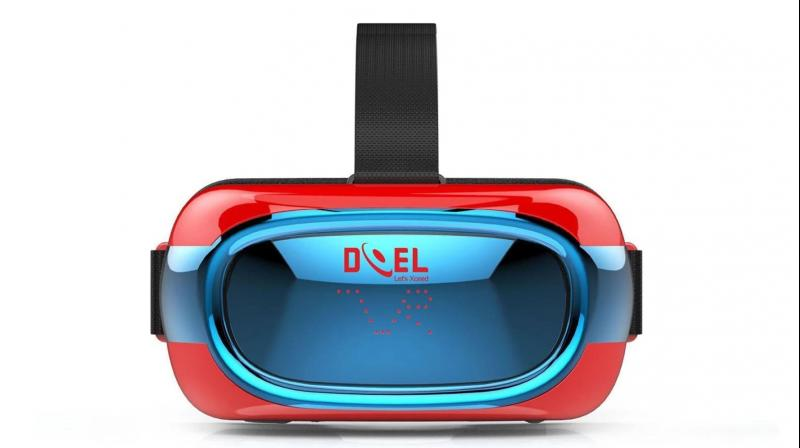 Doel, introduces the all-in-one VR and Doel VR Box, an entry level VR. All-in-one VR comes with in-built controller, which gives you the freedom to use it wirelessly as everything is built-in to the visor.