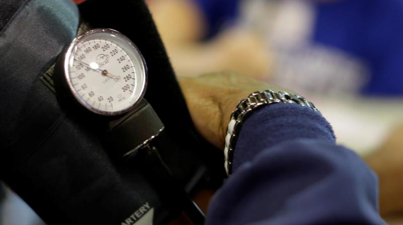 The measurements are fed to a machine learning algorithm which is able to accurately produce blood pressure readings 95 per cent of the time. (Photo: Quartz)