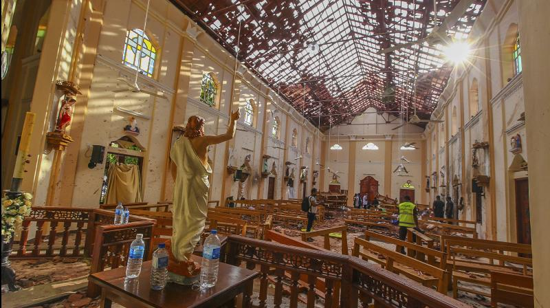 Five suspects in Easter bombings extradited to Sri Lanka
