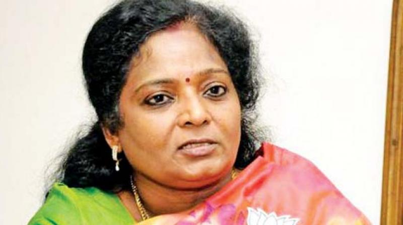 BJP Tamil Nadu chief Tamilisai Soundararajan said people criticising central schemes are not appreciable tax-payers. (Photo: File)