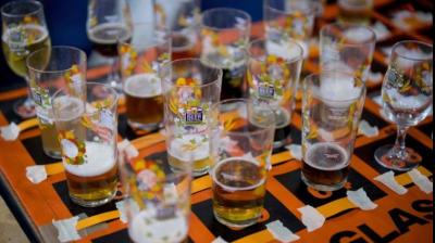 The great british beer festival is taking place in London. (Photo: AFP)