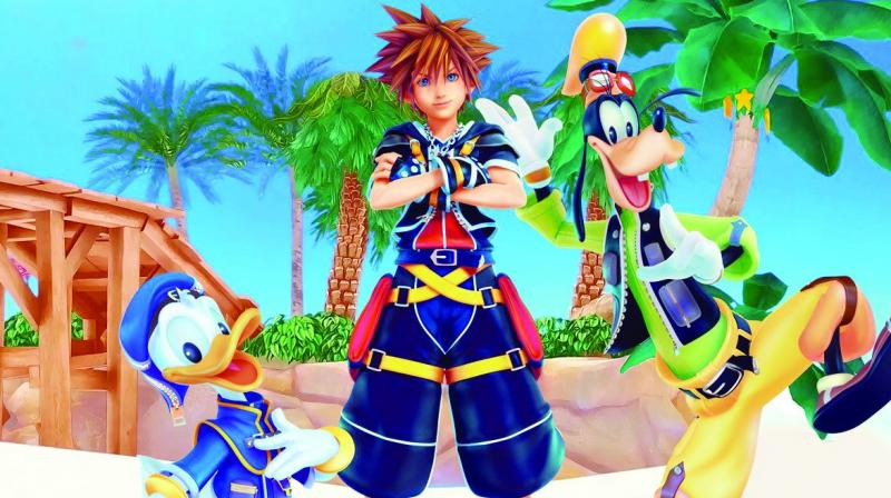 Kingdom Hearts 3 is set to land in 2018