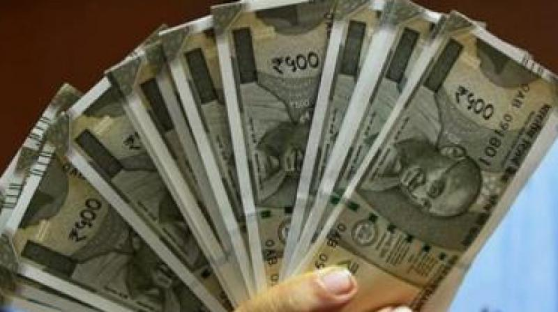 Stock markets opening with gains also backed the rupee.