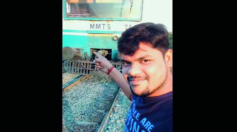 In January this year a video of a man getting knocked down by a speeding train went viral globally.