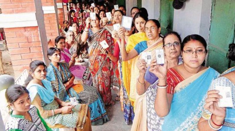 Cong in Rajasthan, TMC in Bengal surge ahead of BJP in bypolls