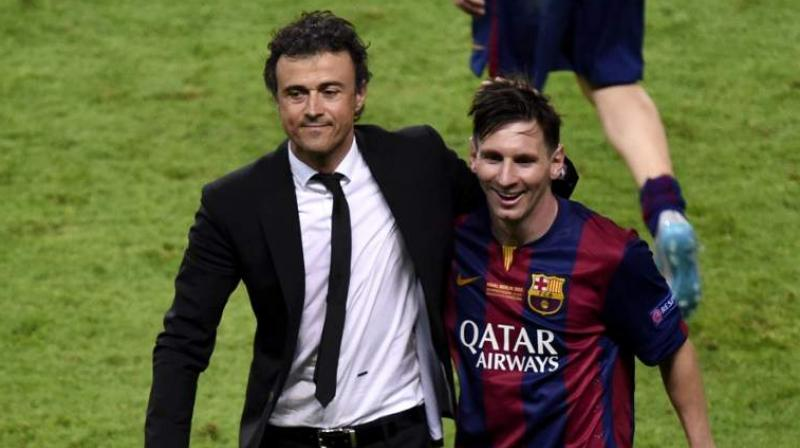 Whoever FC Barcelona pick to replace Luis Enrique will not just be handed a star-studded team led by one of the best players in the world. (Photo: AFP)