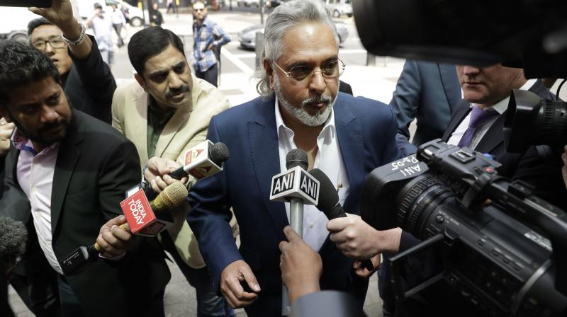 The 61-year-old tycoon looked relaxed as he was greeted by a swarm of cameras and reporters when he entered the court to stand trial on charges of fraud and money laundering related to his erstwhile Kingfisher Airlines owing several Indian banks around Rs 9,000 crores. (Photo: File)