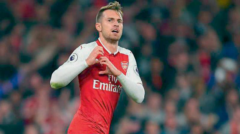 Three goals in his last six starts has helped Ramsey to regain a regular spot in the current Arsenal side.