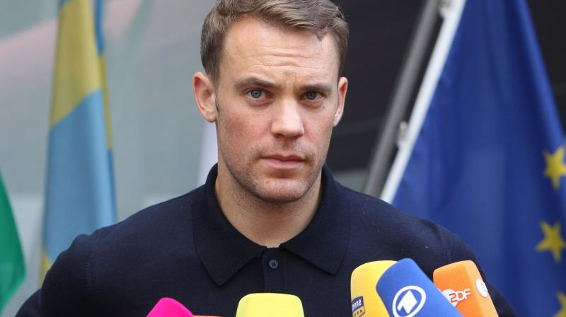 Neuer has had a relentless struggle with injury in recent years, and after the club announced that he would give a press conference on Wednesday, there was some speculation that he might be about to end his career. (Photo: AFP)