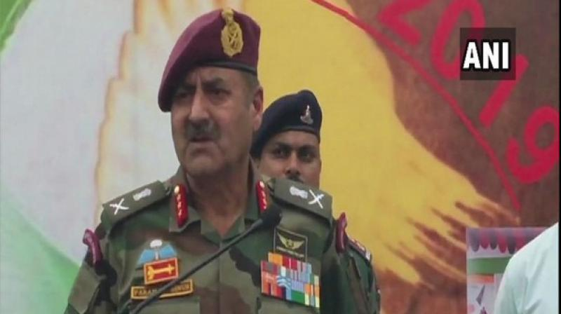Pakistan used heavy weaponry over 100 times during these violations,GOC16 Corps, Lieutenant General Paramjit Singh told media here. (Photo: ANI)