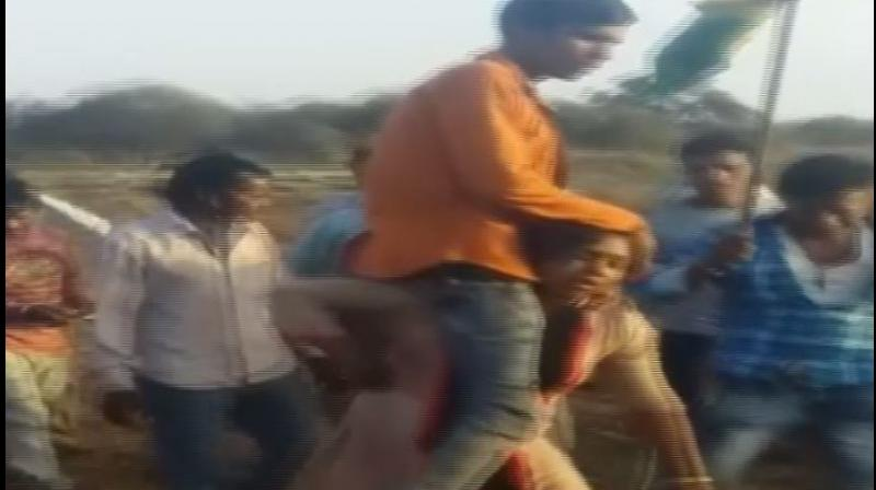 The matter came to fore after a video of the incident went viral. (Photo: ANI)