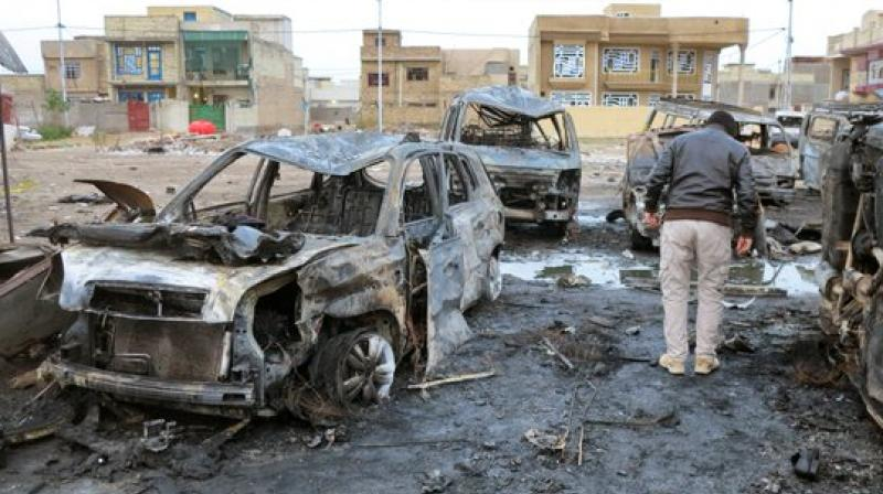 The toll has now reached 50 dead and 87 wounded, Abdel Hussein al-Jabri, deputy health chief said.
