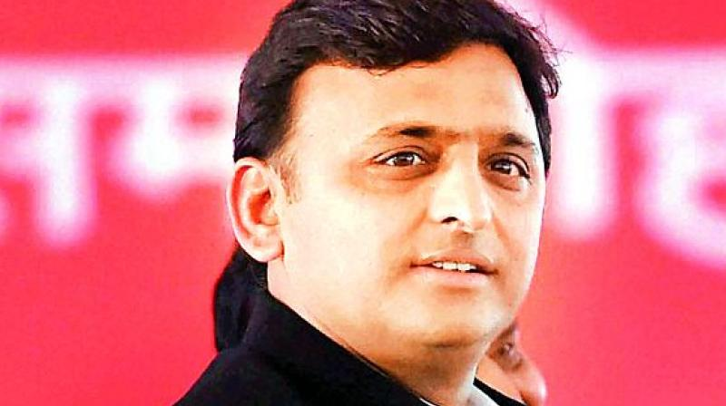 Akhilesh's income has decreased to Rs 84.83 lakh in financial year 2017-2018, when compared to Rs 1.25 crore in 2013-14.  (Image: File)
