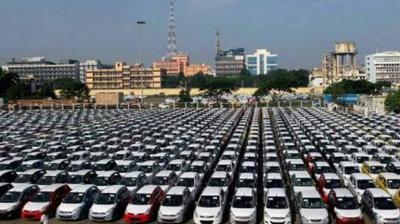 Vehicle sales across categories registered a decline of 23.55 per cent to 18,21,490 units from 23,82,436 units in August 2018.