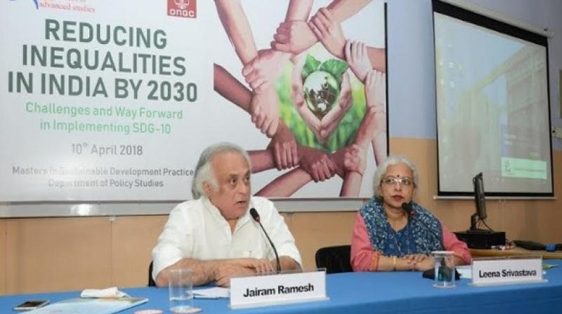 Economic equality is key to solving environmental challenges to achieve the SDGs especially Goal 10, if India wants to achieve its ambitious climate goals in line with the Paris Agreement. (Photo: ANI)