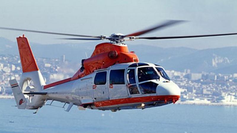 The government holds 51 per cent stake in Pawan Hans, which has a fleet of 43 helicopters.