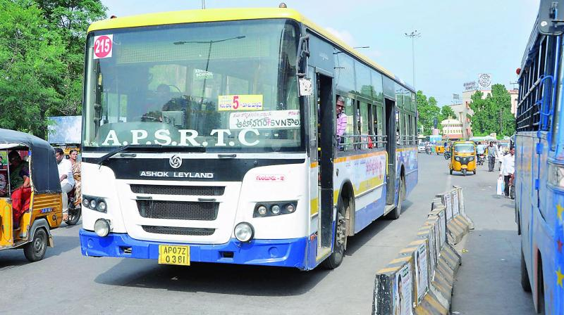 Vikarabad and Khammam districts will ply 10 buses and the remaining districts will arrange five buses. (Photo: DC)