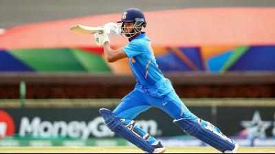 Yashasvi Jaiswal scored a majestic century against Pakistan to take India into the final of the U-19 Cricket World Cup tournament in Pochefstroom, South Africa.
