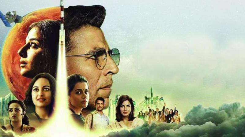 Mission Mangal is written by R. Balki, most recently the director of Pad Man.