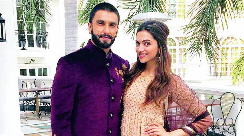 "not official: Ranveer and Deepika are not ""social media official"""