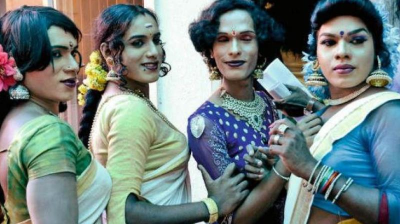 Over a hundred members from the transgender community across the city gathered in Perumbakkam to discuss their struggles and ways to overcome them, in their vibrant, extravagant, 'never-say-die' spirit that they are recognised for. (Representational image)