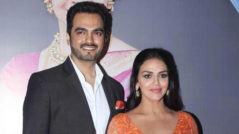 Esha Deol and Bharat Takhtani were recently seen together at the launch of Hema Malini's biography.