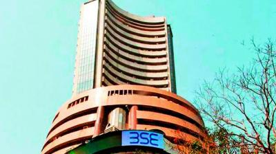 The broader NSE Nifty slipped 32.80 points, or 0.29 per cent, to 11,141.95.