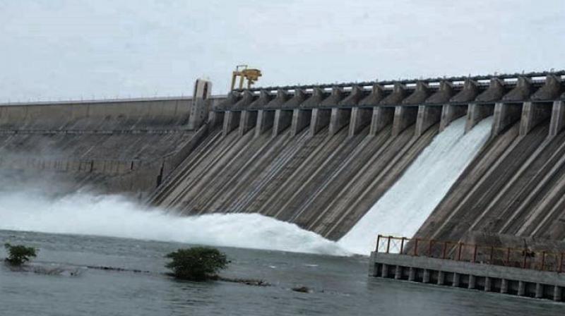A file photo of Nagarjunasagar dam