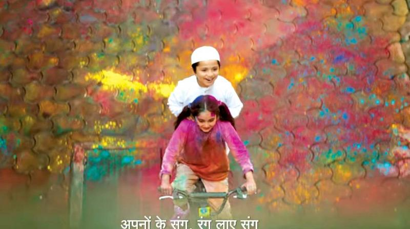 Surf Excel's Holi commercial