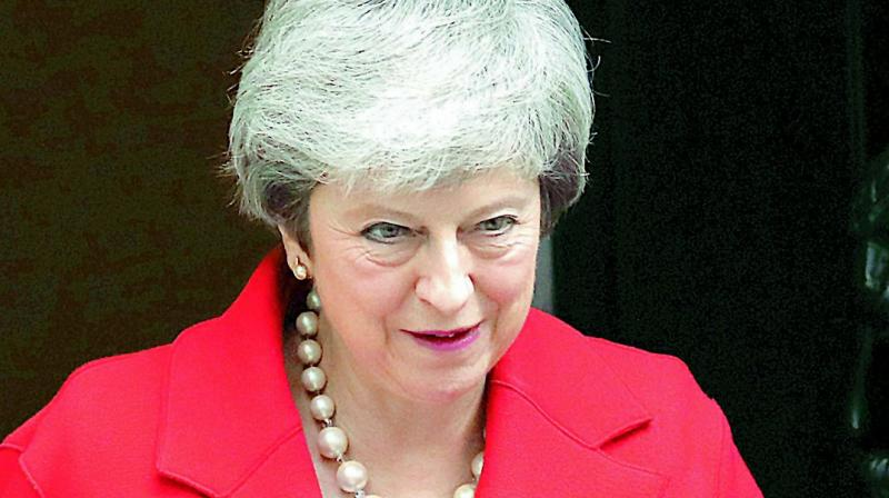 The pivotal vote takes place on the day Britain was supposed to leave the European Union, until May asked the bloc's leaders last week for a little more time. (Photo: File)