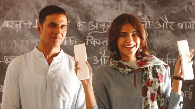 Still from the movie Padman
