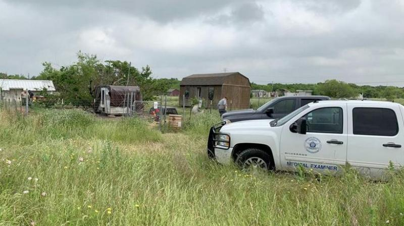 The deputies couldn't locate Mack and, after days of searching, investigators returned to comb the property. Amid the high grass, they found animal feces containing bits of human hair, clothing and bone.  (Photo: AP)