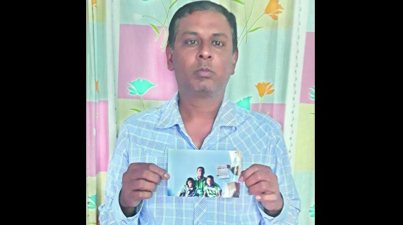 M.A. Hafeez, who filed a complaint against the Karimnagar Qazi alleging that he had unlawfully given custody of his children to his divorced wife.(Photo: DC)