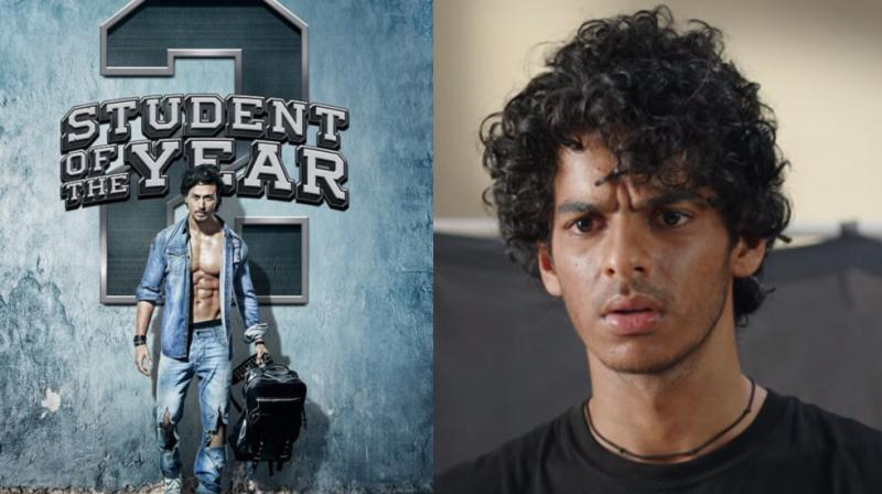 Tiger Shroff on 'Student Of The Year 2' poster, Ishaan Khatter in 'Beyond The Clouds'.