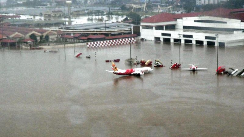 kerala floods: kochi airport closed till august 26