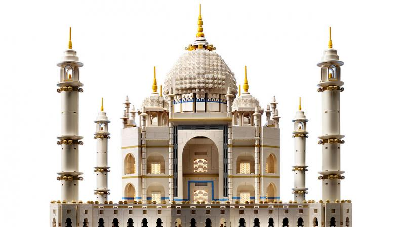 The Denmark-based company has announced the re-release of one of their largest ever kits, a 5,923-piece Creator Export kit of the Taj Mahal. (Photo: Lego)