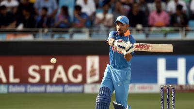 Shikhar Dhawan struck his 14th ODI century during India's Asia Cup 2018 opener. (Photo: AFP)