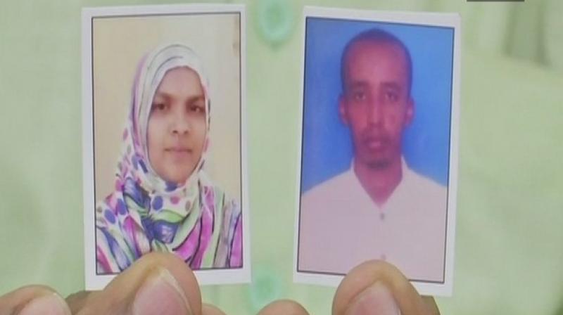 Mohammedi Begum married a Somalian national Sayeed Hassan Ibrahim in 2003 in Hyderabad. (Photo: ANI)